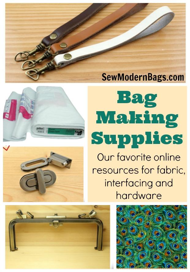 Bag Making Resources Sew Modern Bags