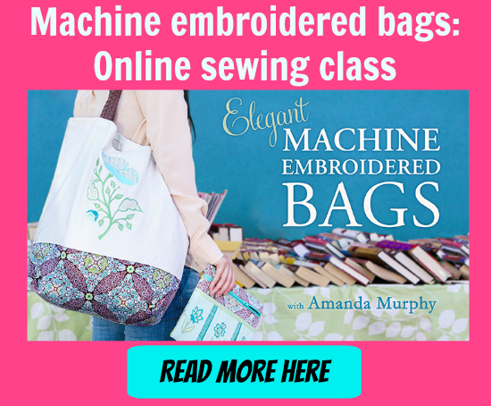 Machine embroidered bags 2