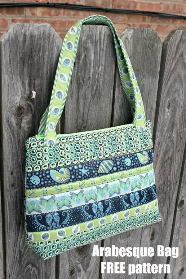Arabesque Bag FREE sewing pattern