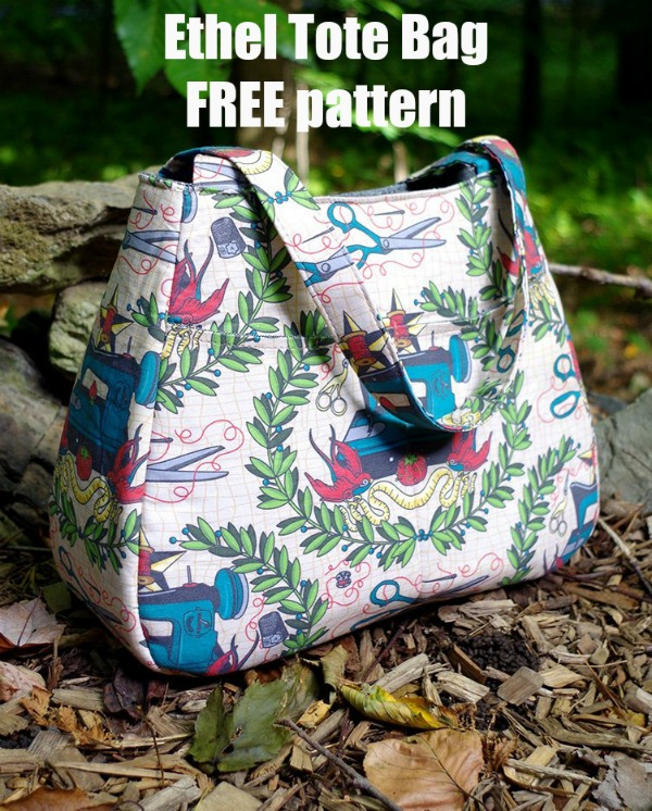 Ethel Tote Bag FREE sewing pattern