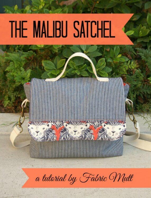 Malibu Satchel Free Sewing Tutorial