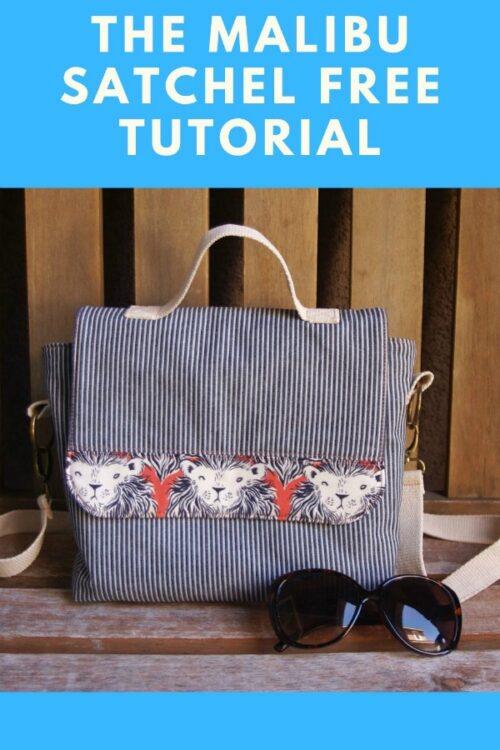 Malibu Satchel free tutorial