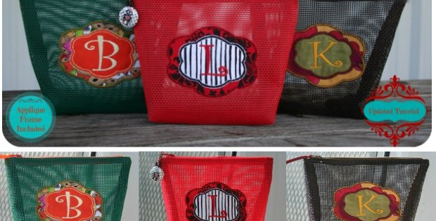 I love sewing with vinyl coated mesh in my bags. Light, strong, versatile. This is the free sewing pattern I started with when I first tried out the vinyl mesh in my bag-making. Recommended.