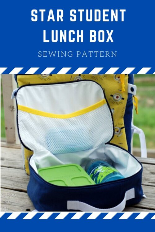 Star Student Lunch Box pattern