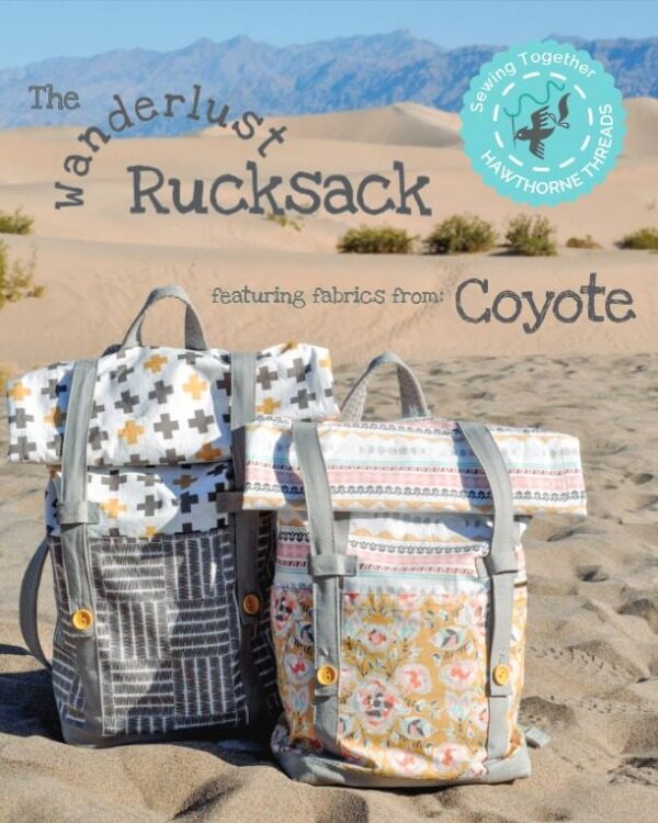 Wanderlust Backpack free sewing pattern