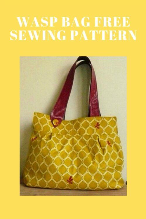 Wasp Bag free sewing pattern
