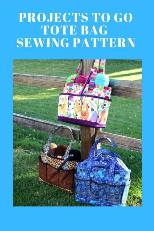 Projects to Go Tote Bag pattern