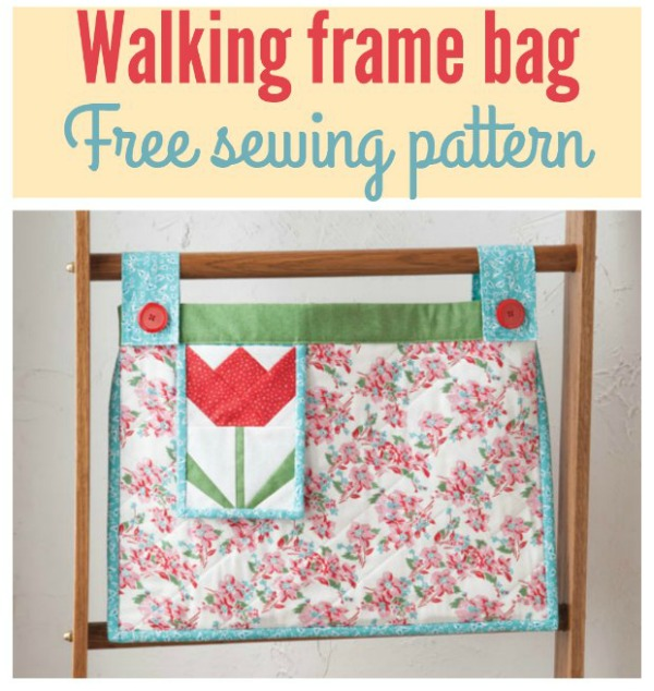 Tulip Walker Tote Bag FREE pattern