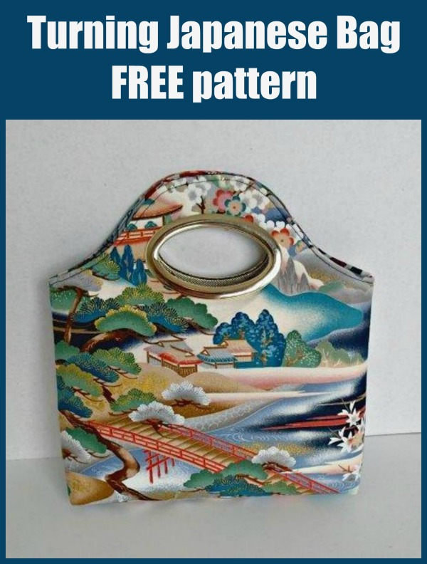 Turning Japanese Bag free pattern