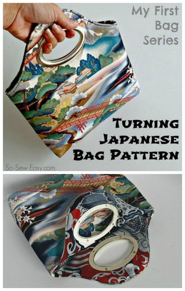 Turning Japanese Bag pattern