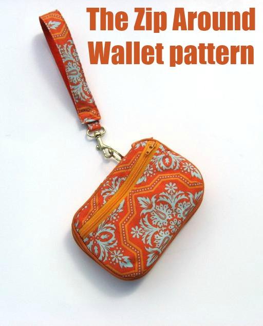 The Zip Around Wallet pattern