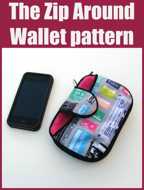 The Zip Around Wallet pattern.