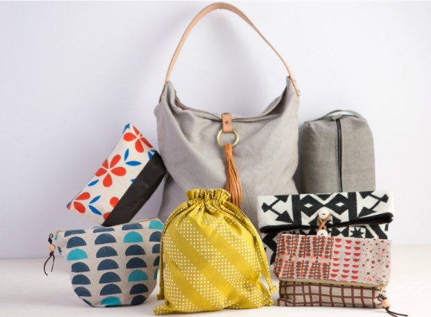 Creative Bug Bag of the Month classes. So many great and varied bag sewing patterns and video tutorials, each released monthly. Build a library of new bag sewing skills and patterns.
