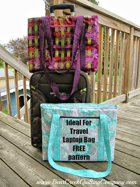 Ideal For Travel Laptop Bag - free pattern