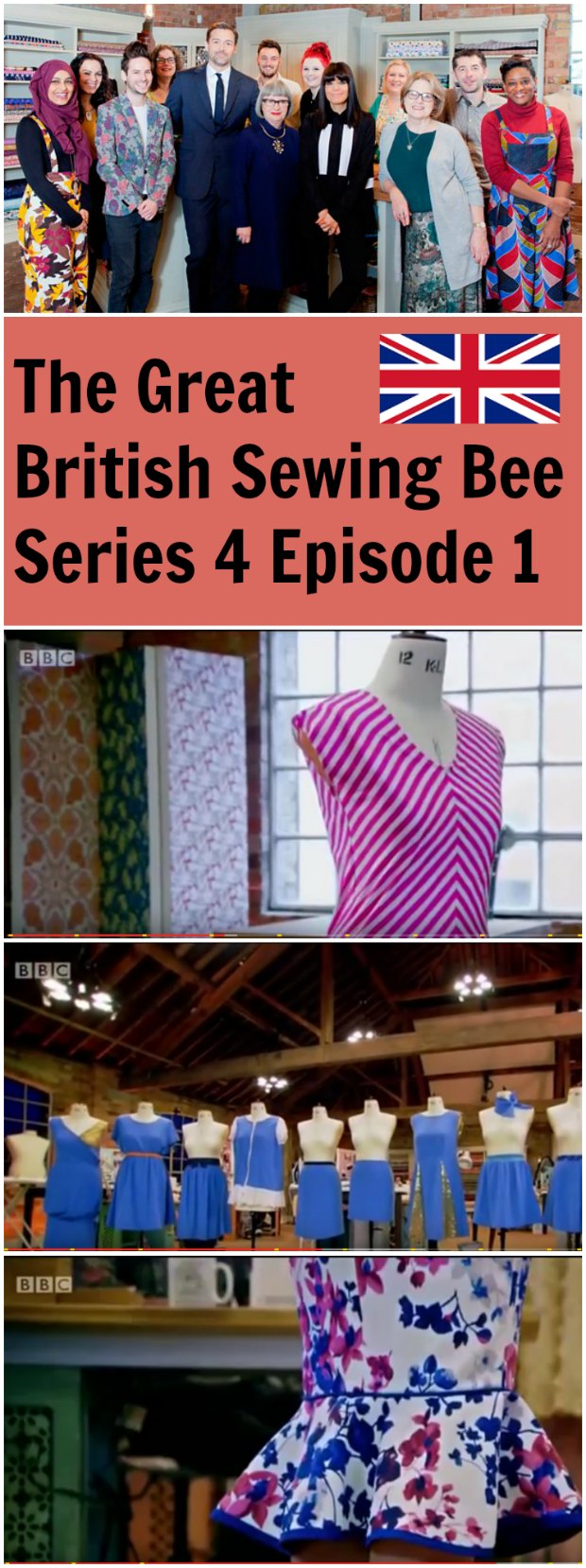 I missed this episode so I was so excited to see it available in full here. The BEST sewing show on TV, and I love all those British accents.