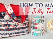 I love these fun bags! Full how to video for a jelly roll tote bag. Everyone I've made these for just loves them.