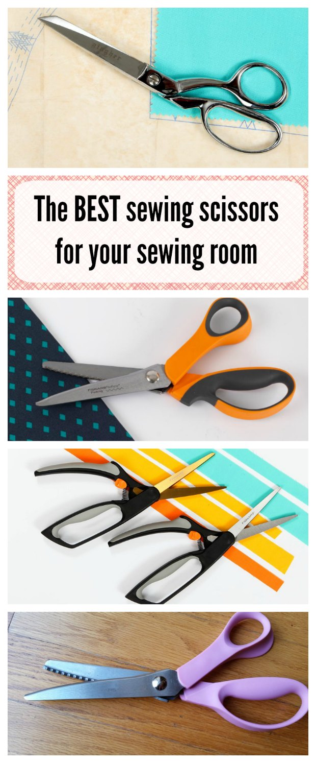Learn all about sewing scissors. Which are the high quality brands, what features should you look out for and what types of scissors or shears should you have in your sewing room. Fascinating!