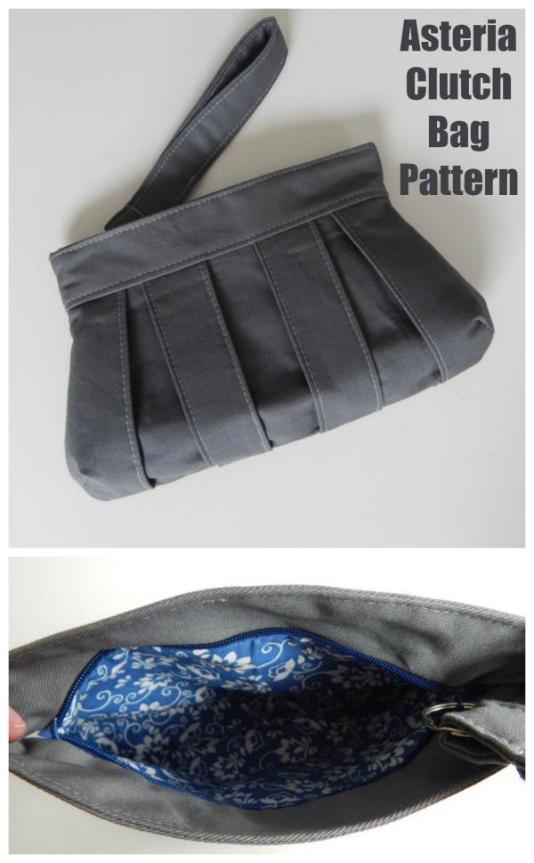 Asteria Clutch Bag Pattern