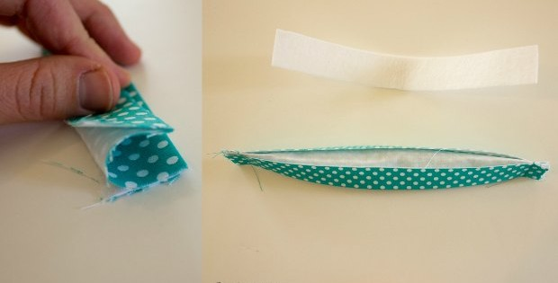 Genuis! An alternative way to create handles and straps when sewing bags. No difficult turning, easy to use with heavier weight stabilisers, and creates beautifully neat handles without the bulky ends - every time! I'm sold.