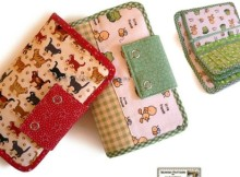 The perfect wallet sewing pattern? I think so. This has everything that I need and it looks amazing too. Very cute pattern, not for beginners, but worth investing the time in.