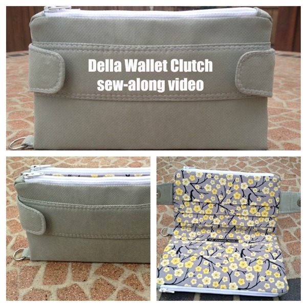 Della Wallet Clutch sew-along video