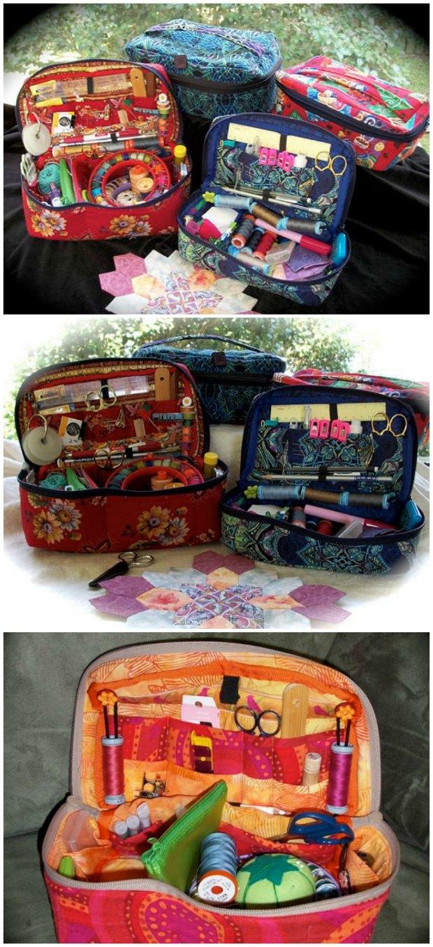 Fabric Sewing Basket pattern.