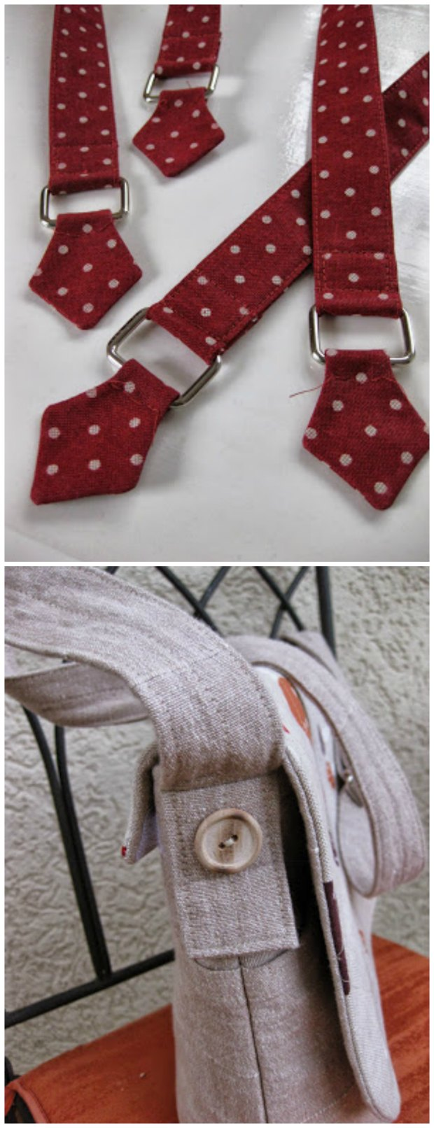 How to make the perfect bag handles - a FREE sewing tutorial