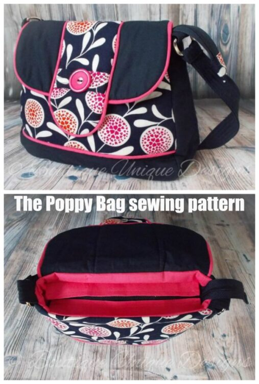 The Poppy Bag sewing pattern