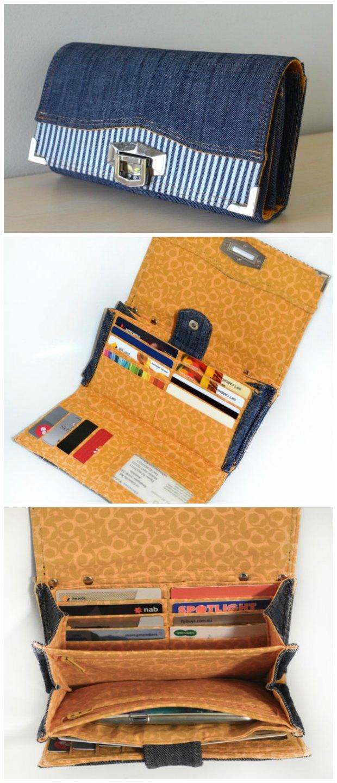 Penny Inn Wallet sewing pattern by Chris W Designs