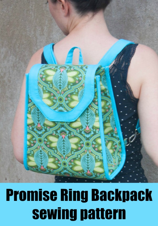 Promise Ring Backpack sewing pattern