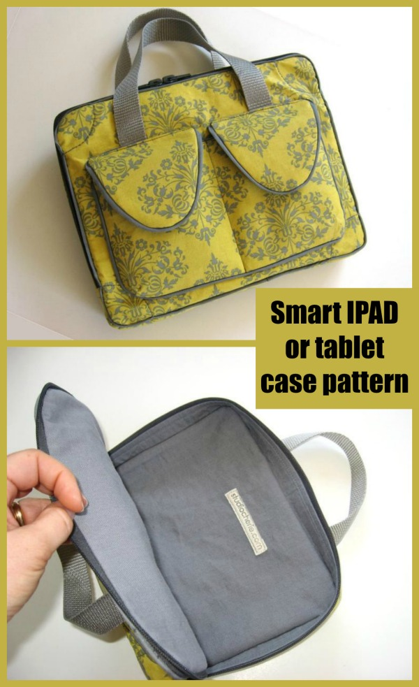 Smart IPAD or tablet case sewing pattern