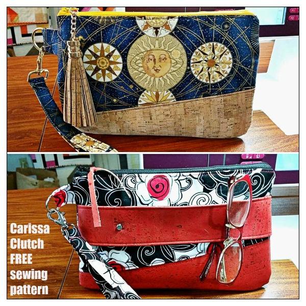 FREE Clutch Bag sewing pattern