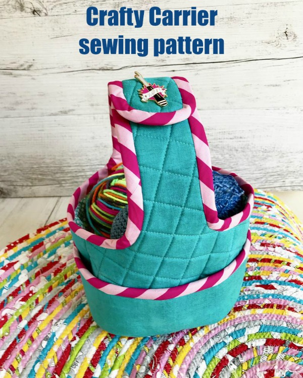 Crafty Carrier sewing pattern