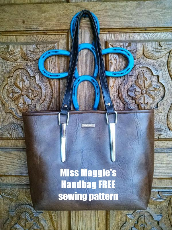 Miss Maggie's Handbag FREE sewing pattern