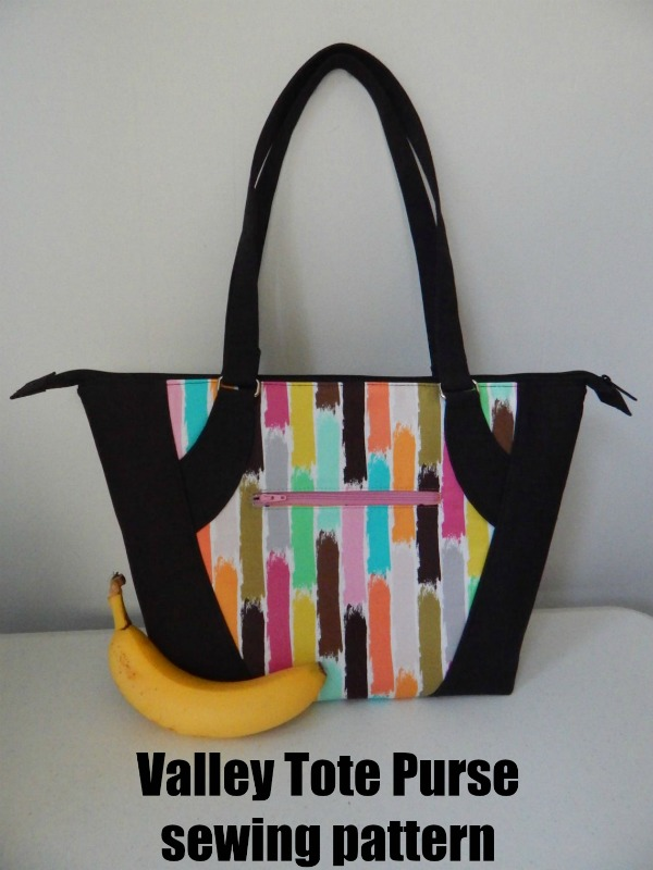 Valley Tote Purse sewing pattern