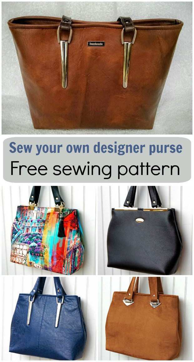 Handbag Free Sewing Pattern