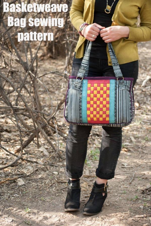 Basketweave Bag sewing pattern