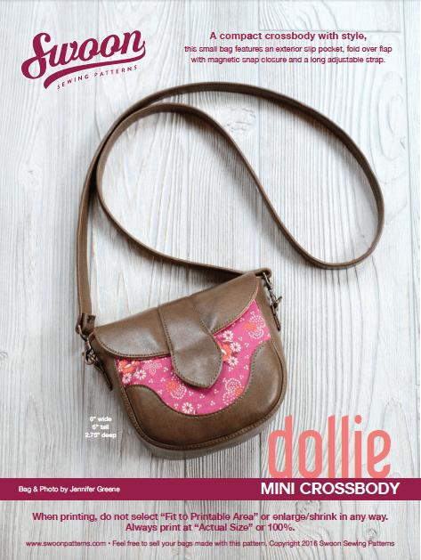 Dollie Mini Crossbody Bag FREE sewing pattern