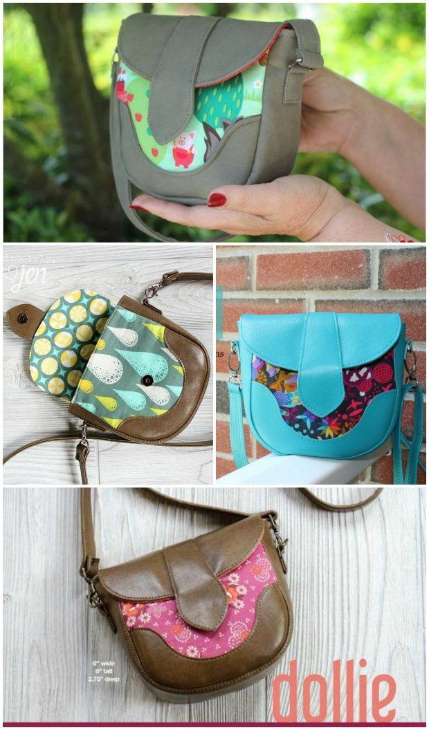 Dollie Mini Crossbody Bag FREE sewing pattern