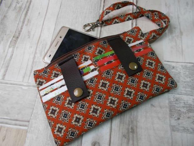 Dela Wallet FREE sewing pattern