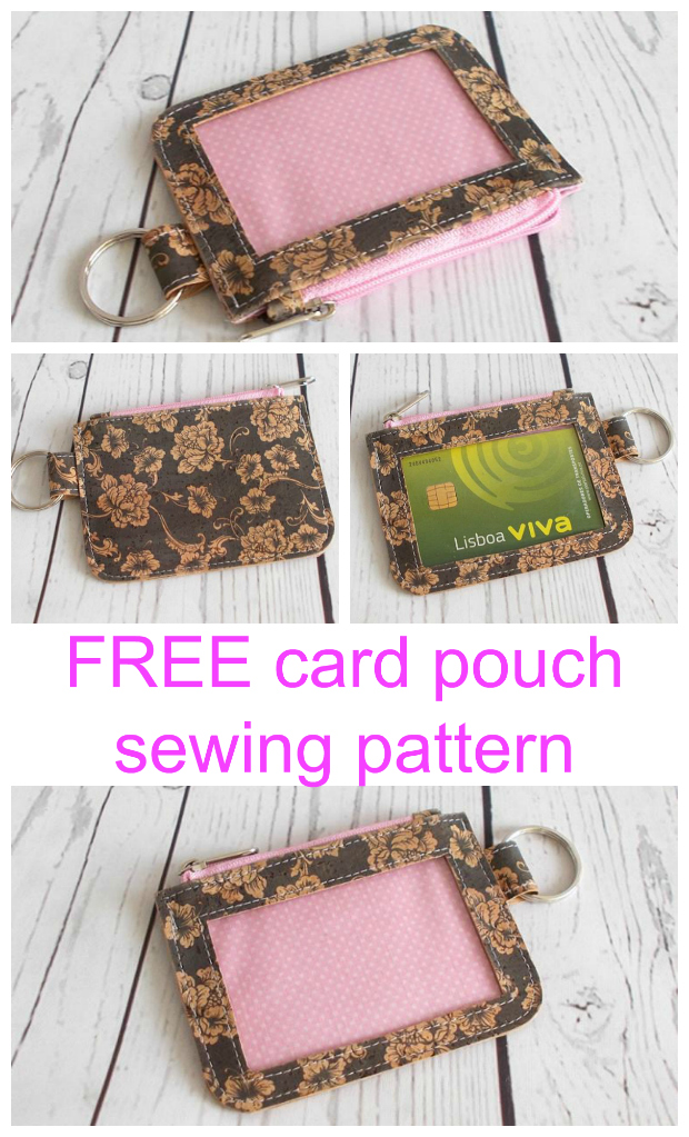 Card It Card Pouch FREE pattern
