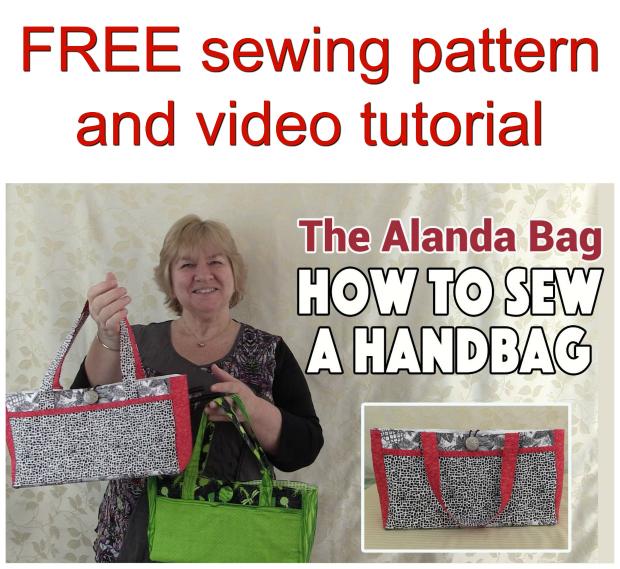 Alanda Purse FREE sewing pattern and video