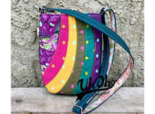 The Mini Shades Pouch by Andrie Designs is an easy to follow sewing pattern that will help you create a beautiful pieced pouch. The outer front panel is constructed with a series of stunning curved pieces, allowing you to play around with a collection of coordinating or contrasting fabrics. Or why not make a plain front pouch using the outer back pattern piece for an even easier and faster sew.