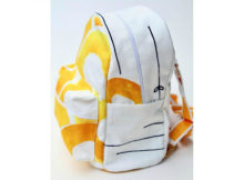 If you want to make a small backpack, then here is an excellent video with FREE sewing pattern and tutorial. This is one of the cutest small backpacks you will ever see, that can also be worn as a cross-over or cross body bag as well.