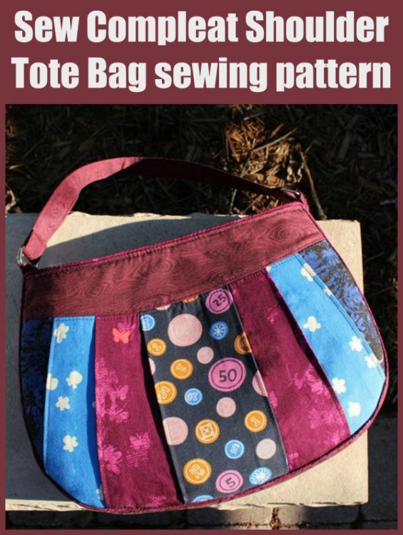 Sew Compleat Shoulder Tote Bag sewing pattern