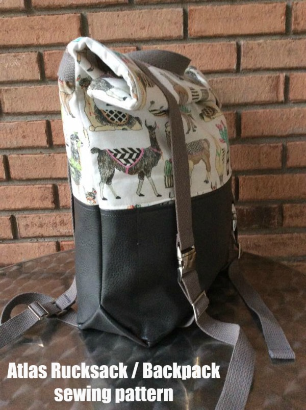 Atlas Rucksack / Backpack sewing pattern