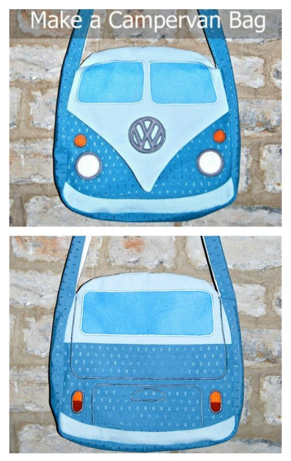 Make a Campervan Bag sewing pattern