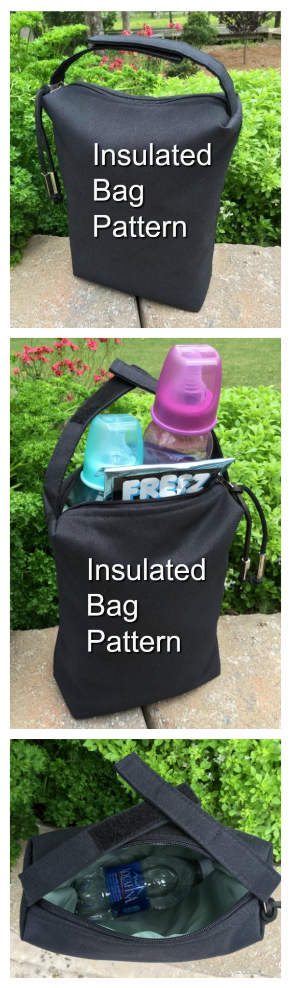 Insulated Lunch Bag sewing pattern