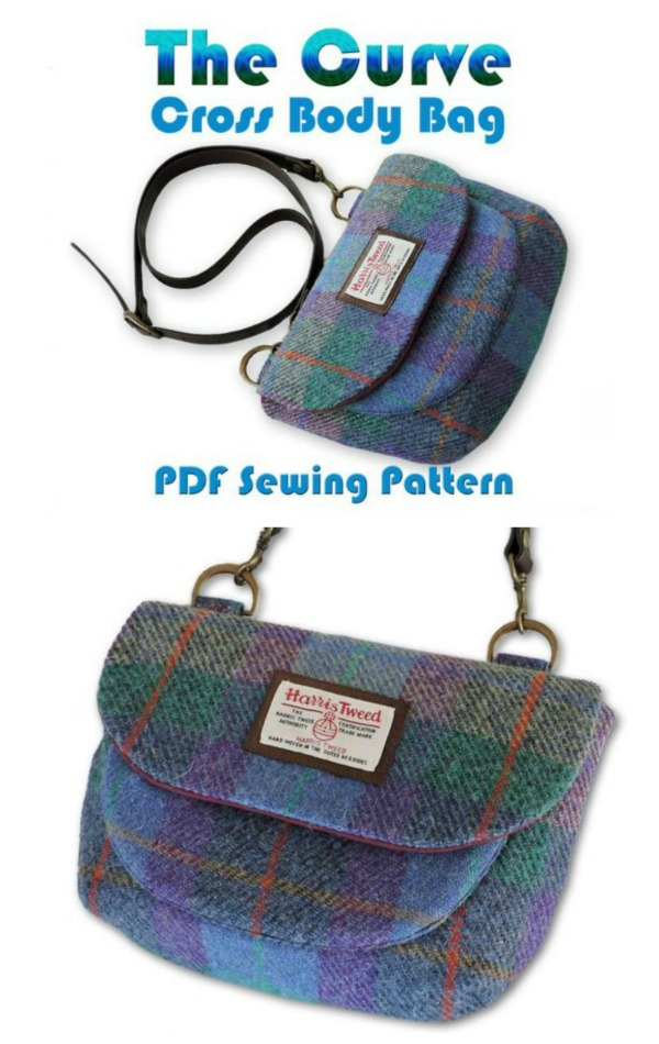 The Curve Crossbody Bag Pattern