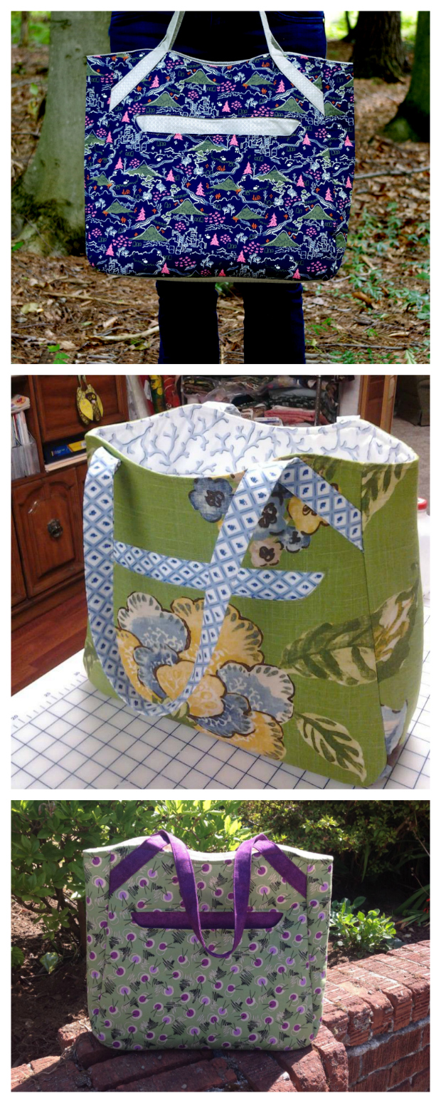 Alice Tote Bag FREE sewing pattern